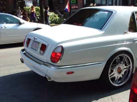 Bentley Arnage On Massive Wheels Youtube