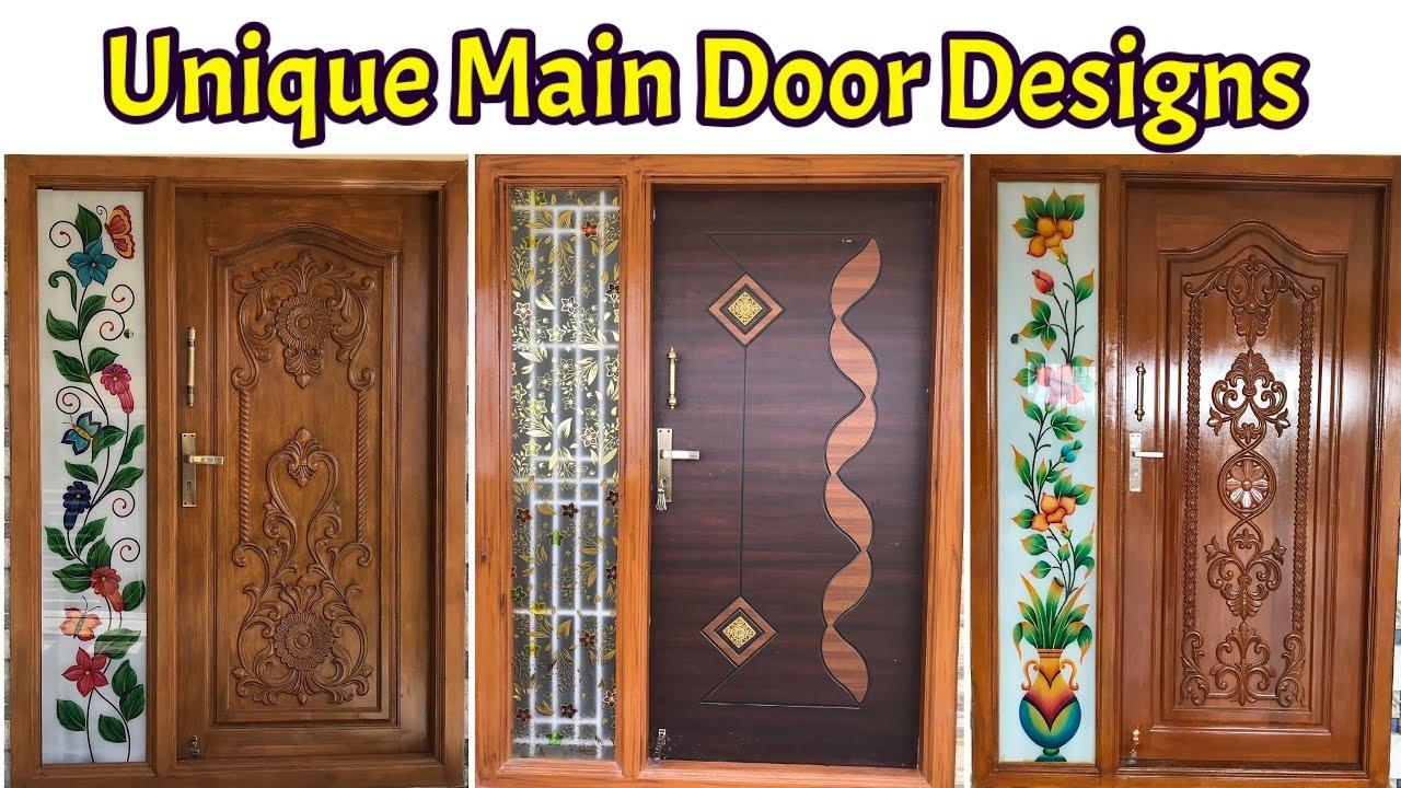 15 Latest Wood Main Door Design For Indian Homes Teak Wood Door Design Youtube