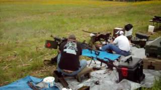Dueling M240B And M2