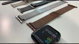 Best Apple Watch Series 4 Bands - Unboxing & Review