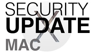 Apple Security Updates How to install/download Mac