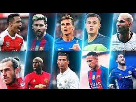 Top 10 Goalscorers in Football 2017 dream leage