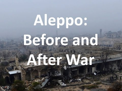 Aleppo in Syria: Before and after Destruction (BBC Hindi)