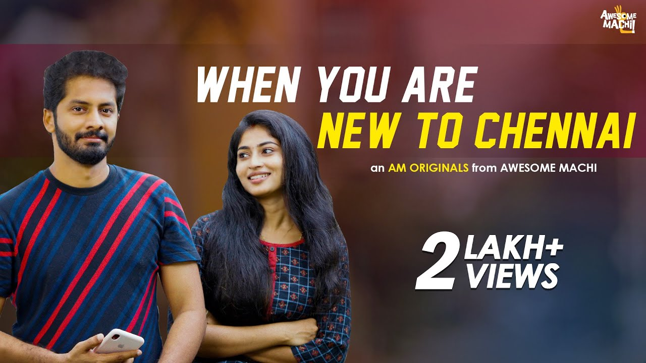 When You are New to Chennai  | Awesome Machi | English Subtitles