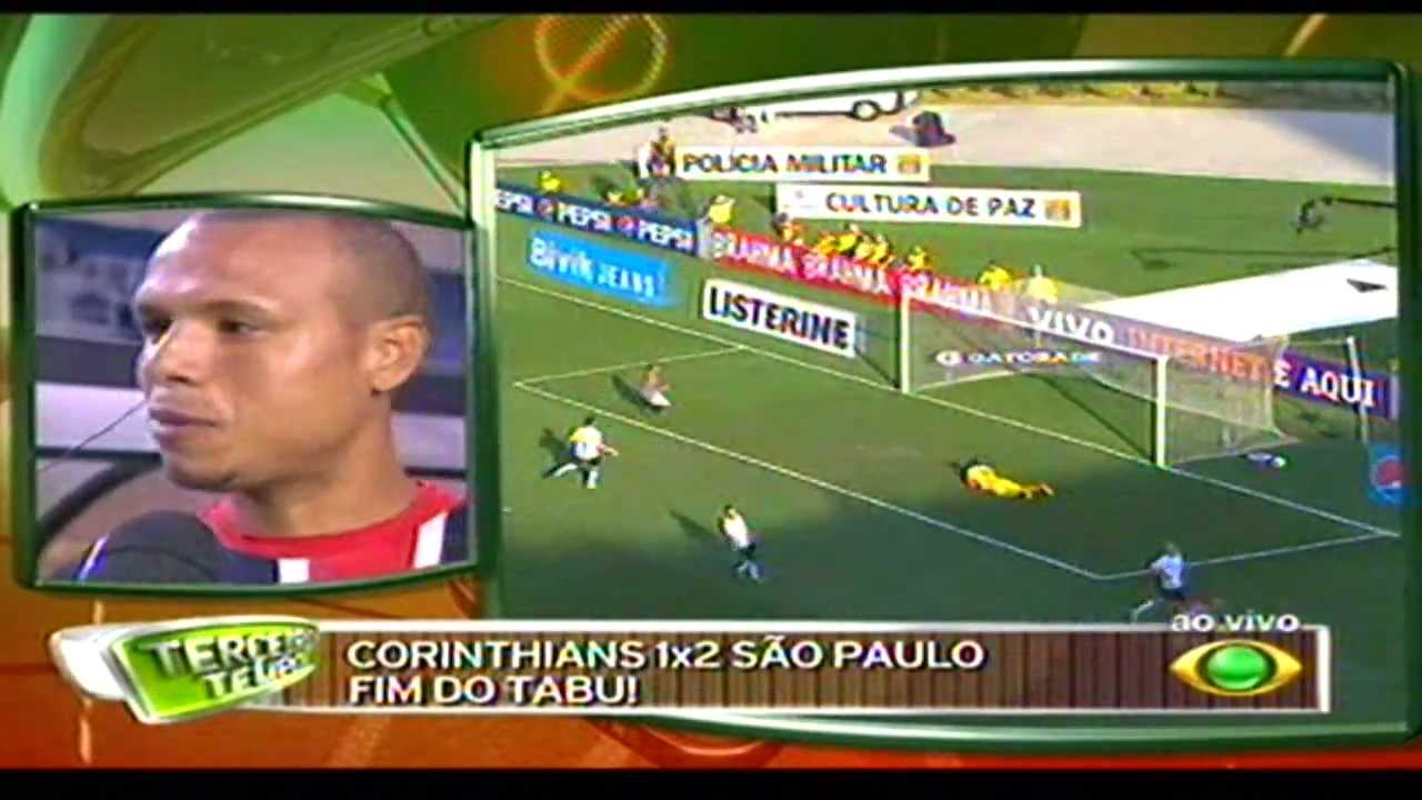 Terceiro Tempo: Luiz Fabiano No Terceiro Tempo Da Band Após A Vitória Do