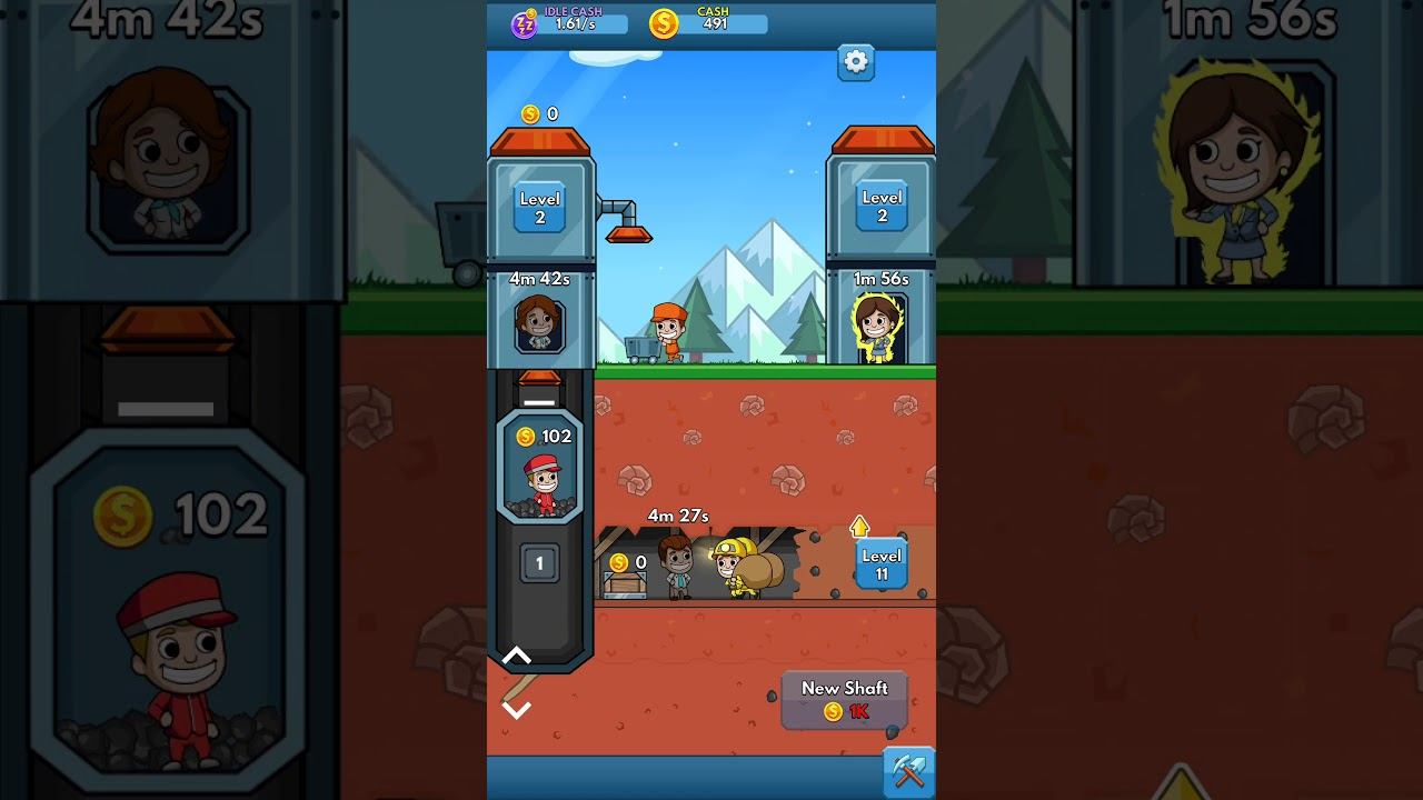 Idle Miner Tycoon: Cash Empire | GAMEPLAY IOS - YouTube