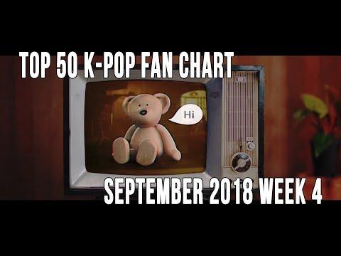 Top 50 K-Pop Songs Chart - September 2018 Week 4 Fan Chart