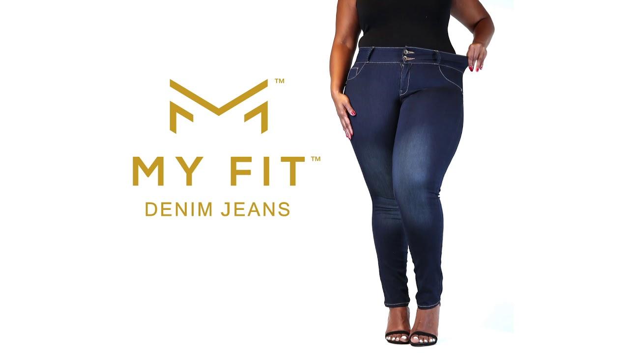Утягивающие джинсы MyFit в Семее