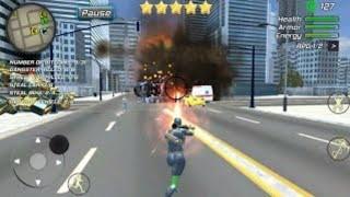 Rope Frog Ninja Hero- Strange Gangster Vegas- |Game For Your smartphone|