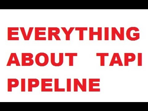 EVERYTHING ABOUT TAPI PIPELINE