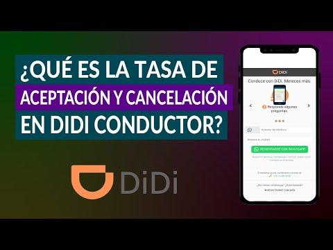 ¿Qué es la Tasa de Aceptación y Cancelación en DIDI Conductor? ¿Cómo Verla?