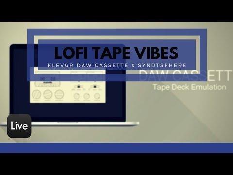 Making Lo-Fi w/ KLEVGR DAW CASSETTE & FREE PLUGINS