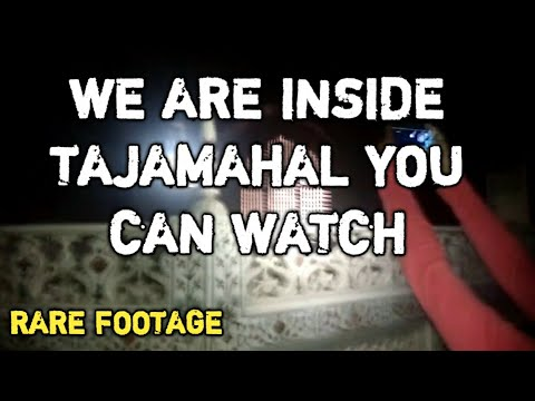 Rare Video of The Inside Taj mahal