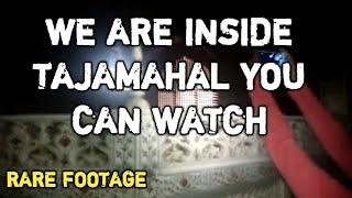 Rare Video of The Inside Taj mahal