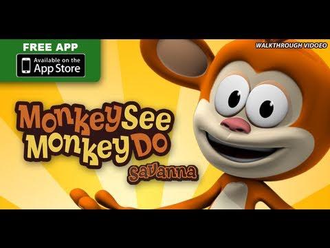 Monkey See Monkey Do™  Savanna  Walkthrough