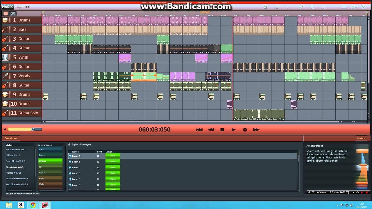 magix music maker 2012 free download full version