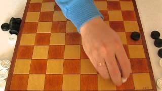 MVI 2491 Оппозиция (ч.1). Видео урок по шашкам для начинающих. Opposition. Draughts.
