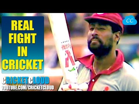 Real Fight between WI & AUS - Listen Sir Viv Richards Aggressive Words - Must watch till the End
