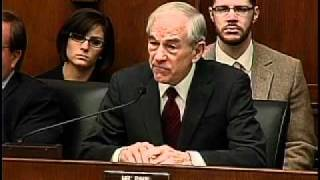 Ron Paul vs. Ben Bernanke -- 2/29/12