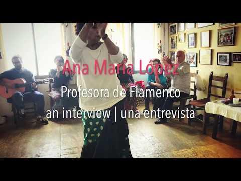 Bulerías Heart & Soul: Interview with Ana María López, Flamenco Instructor from Jerez