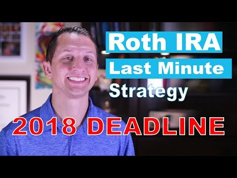 """<span class=""""title"""">Roth IRA Last Minute Strategy</span>"""