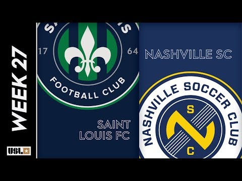 Saint Louis FC Vs. Nashville SC: September 7th, 2019