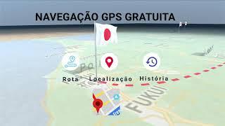 o aplicativo Mapas e direções off-line obterá todos os recursos abaixo gratuitamente: screenshot 4