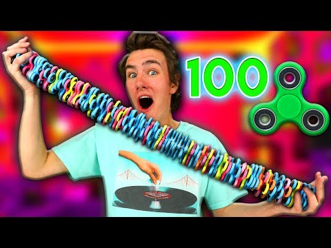 Thumbnail: 100 LAYERS of Fidget Spinners