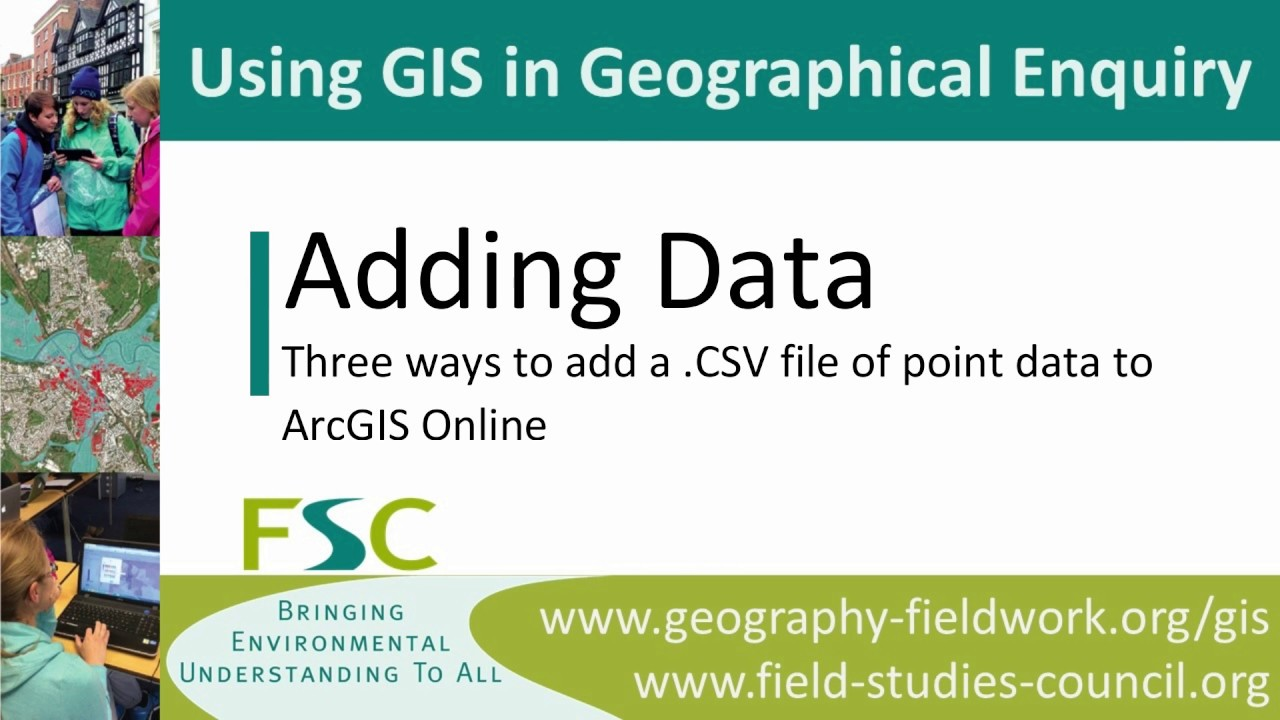 Geography Fieldwork - A Level - Using GIS In Your Data