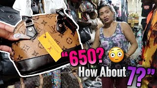 SHOPPING AT A  MARKET IN BALI..😱.