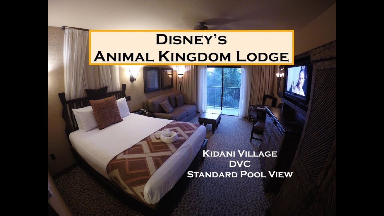 Standard Room Kidani Village What S In The Room