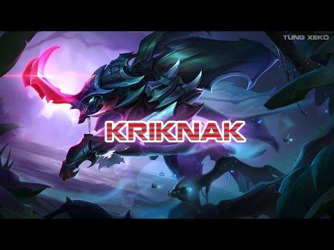 Hướng dẫn chơi Tướng Kriknak - Bọ Báo Tử - Liên Quân Mobile - Realm of Valor