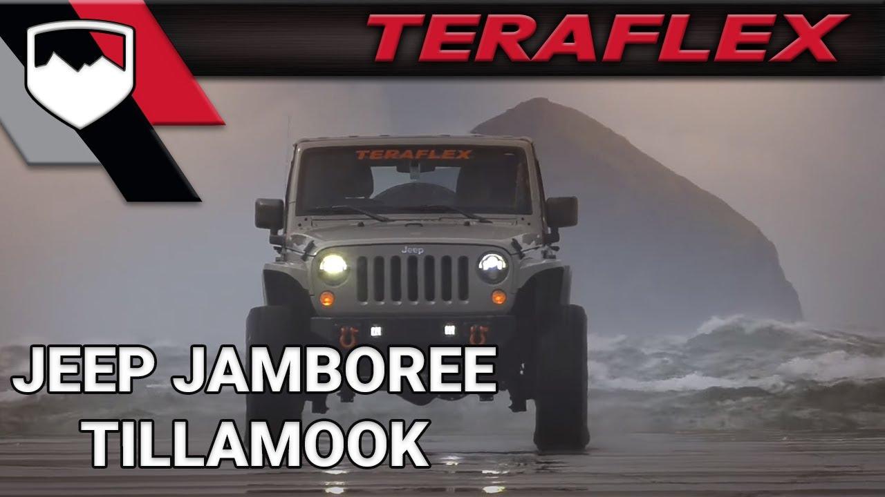 8559775c724 TeraFlex  Tillamook Jeep Jamboree 2017 - YouTube