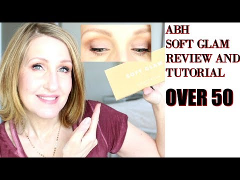 ABH SOFT GLAM PALETTE TUTORIAL AND REVIEW