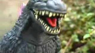 Giant Ninja Monsters [test film] for a series of short Godzilla films.