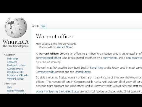 What Is A Navy Warrant Officer?