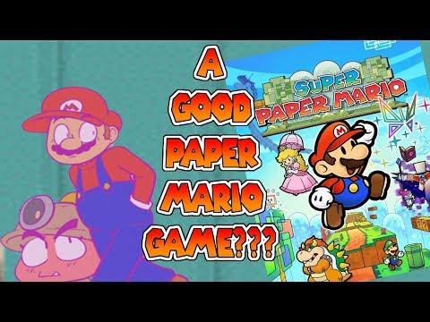 What Makes Super Paper Mario A Paper Mario