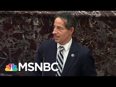 Raskin Slams Potential Free Speech Defense From Trump Team In Closing Argument   MSNBC