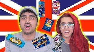 TASTE TEST | CANADIANS TRY UK SNACKS