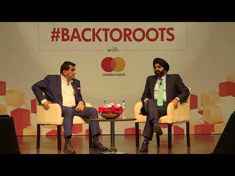 A Conversation between Mastercard CEO Ajay Banga and Mr. Amitabh Kant