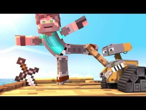 Minecraft Мультик -Я НАШЕЛ ВАЛЛИ!!!(Майнкрафт Анимация)