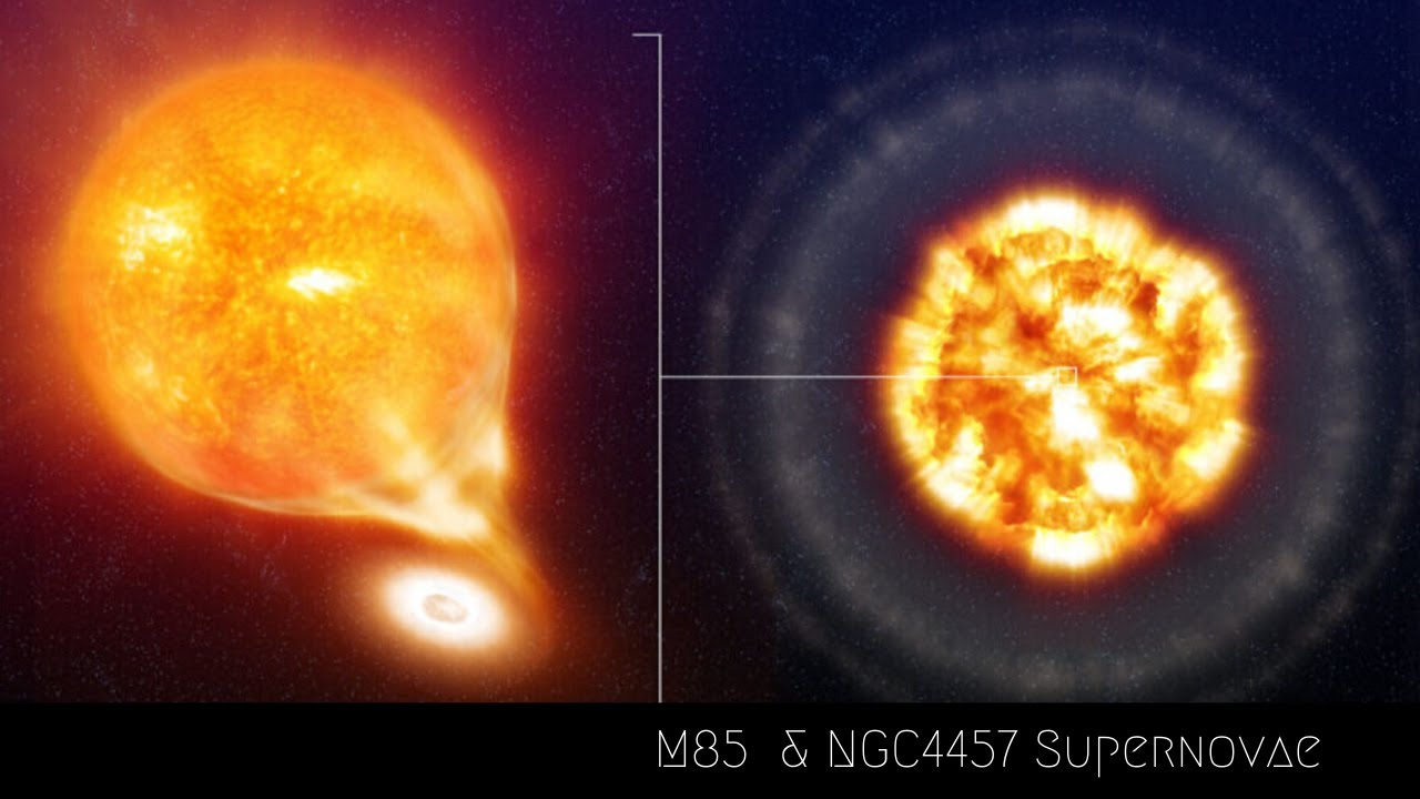 2 Supernova Explosions were just detected!