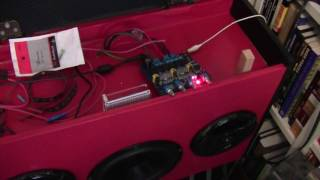 TPA 3116 D2 class D bluetooth amp actual  power usage in my boom box  Part 5