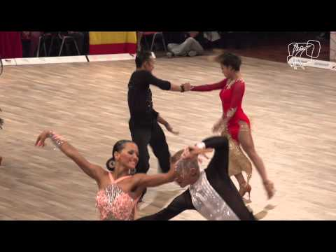 Kubota Kubota,  Jpn   2014 World Latin R1 C  Dancesport Total