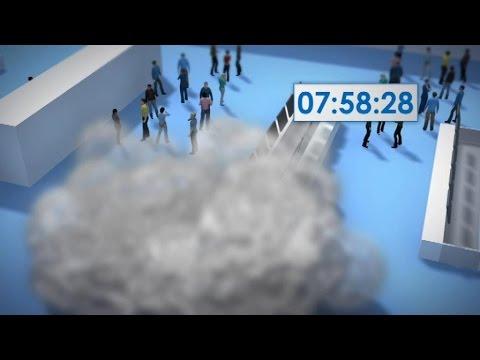 Bruxelles: reconstitution en 3D de l'attentat de l'aéroport de Zaventem