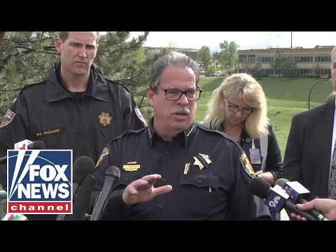Press conference on shooting at Colorado STEM high school