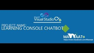 Download Source Code:Learning Console ChatBot C# Visual Studio 2010