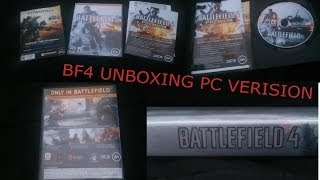 BattleField 4 - Unboxing For PC + Gameplay commentary and install process