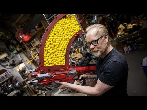 Adam Savages One Day Builds: 1000 Shot NERF Blaster!