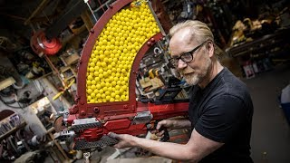 Adam Savage's One Day Builds: 1000 Shot NERF Blaster! thumbnail